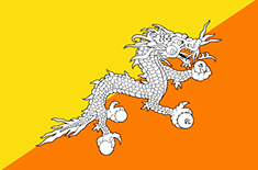 country Bhután (del Oeste)